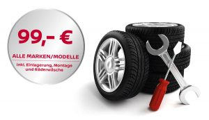 Reifen-Komplettservice